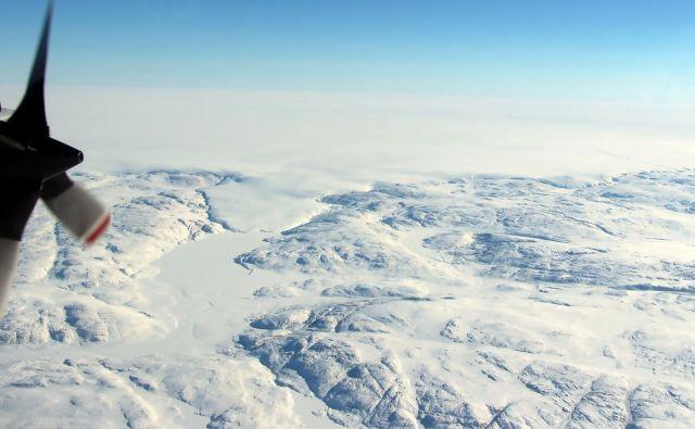 Grenlandija se tali vse hitreje. FOTO: John Sonntag/AFP