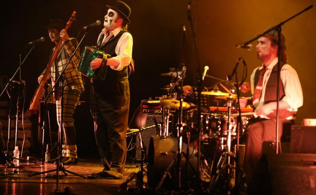 The Tiger Lillies - totalnost drugačnosti.<br /> FOTO: Tomi Lombar