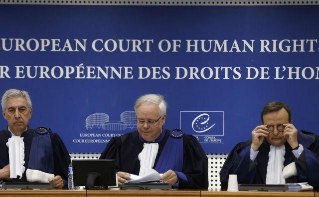 Tožba bo pomembna tudi za tiste, ki se niso obrnili na ESČP. FOTO: Reuters