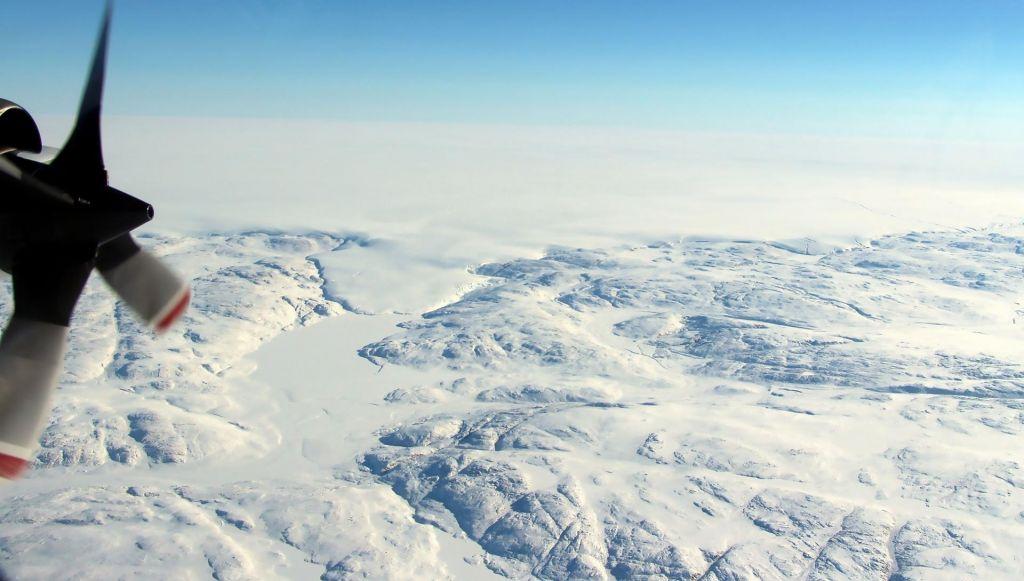 Led na Grenlandiji se tali vse hitreje