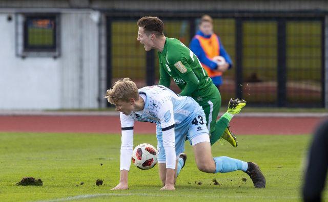 Zmaji so Goričane na kolena spravili prvič v sezoni. FOTO: Voranc Vogel/Delo