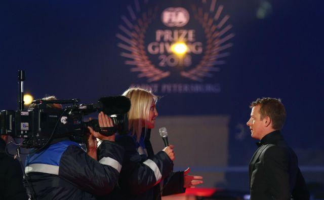 Kimi Räikkönen je s svojim zabavljaškim nastopom zasenčil vse. FOTO: Anton Vaganov/Reuters