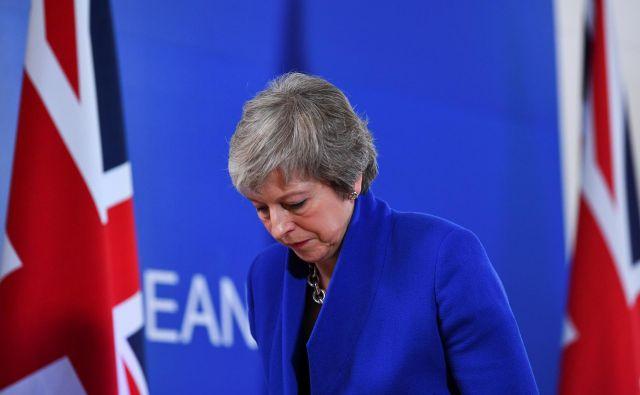 Theresa May FOTO: Dylan Martinez/Reuters