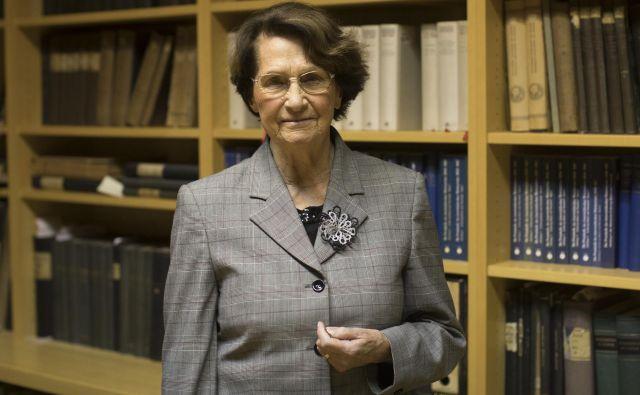 Milica Wohinz je diplomirala leta 1958 z nalogo, v kateri je obravnavala Svobodno tržaško ozemlje. Foto Voranc Vogel