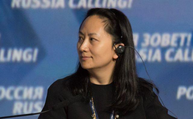 Finančna direktorica tehnološkega giganta Huawei Meng Wanzhou izhaja iz bogate družine, ki ve, kaj je revščina. FOTO: Reuters