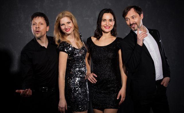 Kvartet Vox Arsana v nedeljo pripravlja poseben večer. Foto promocijsko gradivo