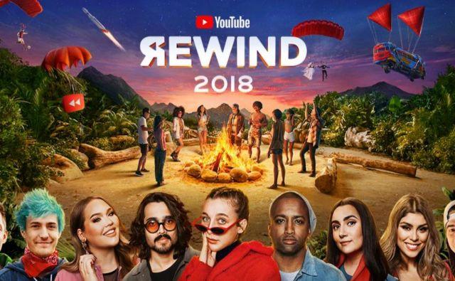 Letošnji rewind se je v štirih dneh zavihtel na drugo mesto večne youtubove lestivce največkrat nevšečkanih (ang. dislike) videov. FOTO: twitter/youtube
