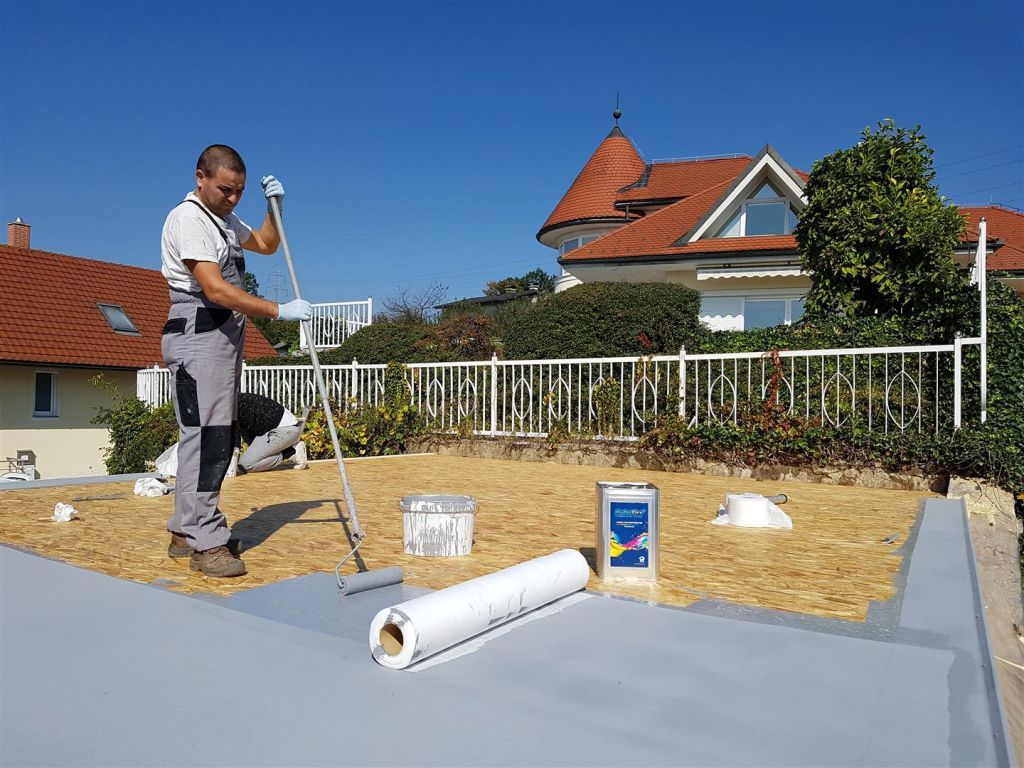 Hidroizolacija in premazi lesenih montažnih gradenj, balkonov in teras