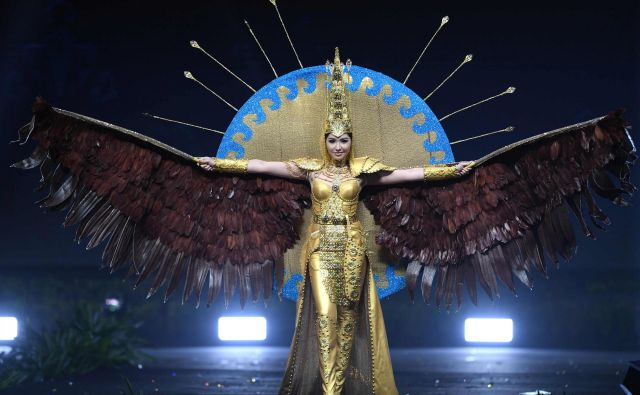 Sabina Azimbayeva, Miss Kazahstana 2018. Foto Lillian Suwanrumpha Afp