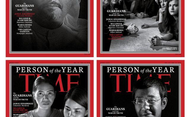 Priznanje so letos izrekli štirim novinarjem oziroma novinarskim skupinam, ki so zaradi svojega dela plačali visoko ceno. FOTO: Time Magazine/AP