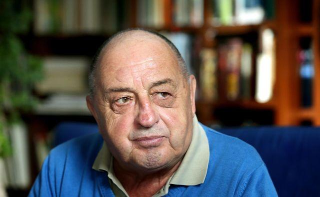 Dr. Boris Kuhar se je kot etnolog sukvarjal s študijem neevropskih kultur pa tudi s spreminjanjem slovenske vaške kulture, šeg in prehrane. FOTO: Jož�e Suhadolnik/Delo