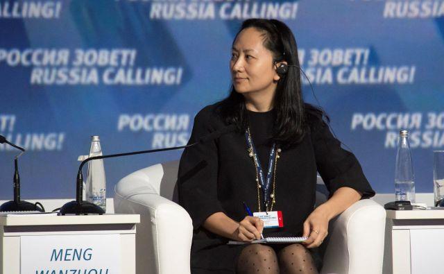Meng Wanzhou trdi, da nima nič z ameriškimi sankcijami. Foto Reuters
