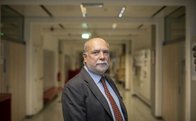 Thomas Wieser, Ekonomska fakulteta, Ljubljana, 6. 12. 2018 Foto Voranc Vogel/delo