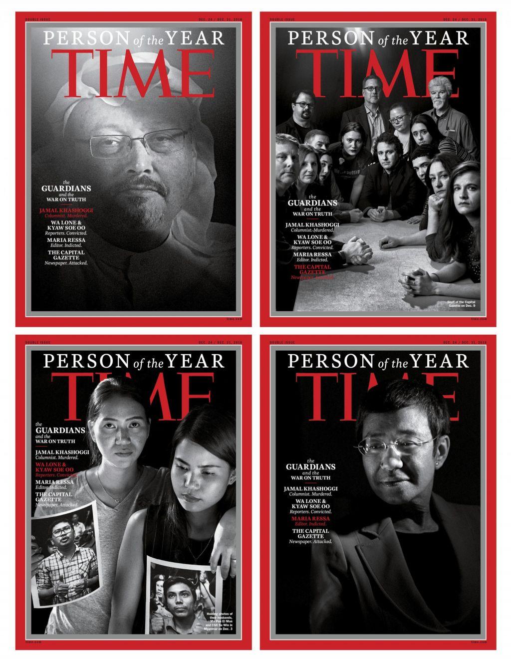 FOTO:Time: osebnosti leta 2018 so varuhi resnice