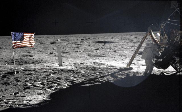 Neil Armstrong je na Luno stopil 20. julija 1969. FOTO: Reuters