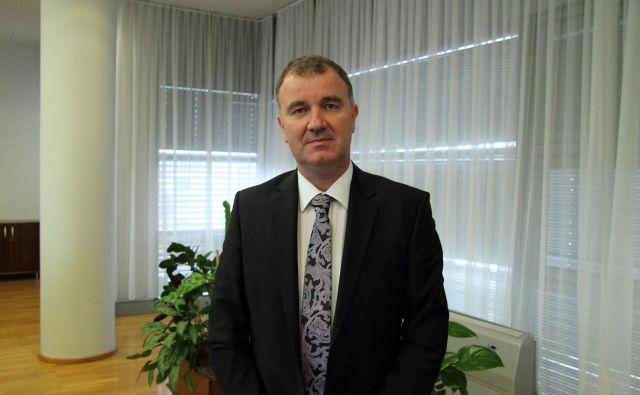 Predsednik uprave Cinkarne Celje Tomaž Benčina po dveh rekordnih letih pričakuje precej težje pogoje poslovanja. Foto: Brane Piano/Delo