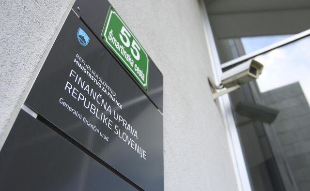 Finančna uprava je dobila obvestila o poskusih goljufije. FOTO Leon Vidic/Delo