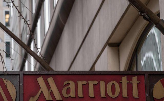 Hoteli skupine Marriott so vodilni ponudnik nočitev za uslužbence ameriške vlade in vojske in s tem logična tarča. FOTO: AFP