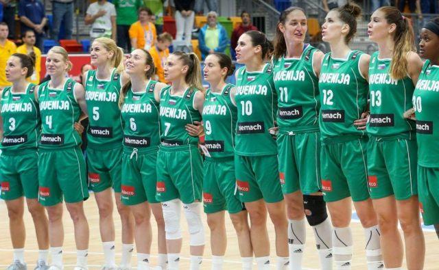 Slovenske reprezentantke so dobile nasprotnice. FOTO: KZS