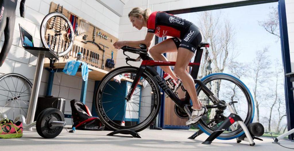 Načrt treninga za moč in hitrost na sobnem kolesu