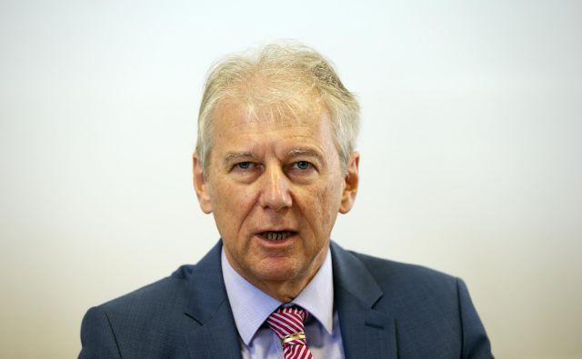 Predsednik fiskalnega sveta Davorin Kračun vlado poziva k reformam in ustvarjanju proračunskih prihrankov. FOTO: Jož�e Suhadolnik
