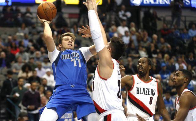 Luka Dončić je po učinku med elito lige NBA.FOTO: AP