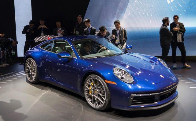 Porsche 911, osma generacija, ki je bila predstavljena nedavno.