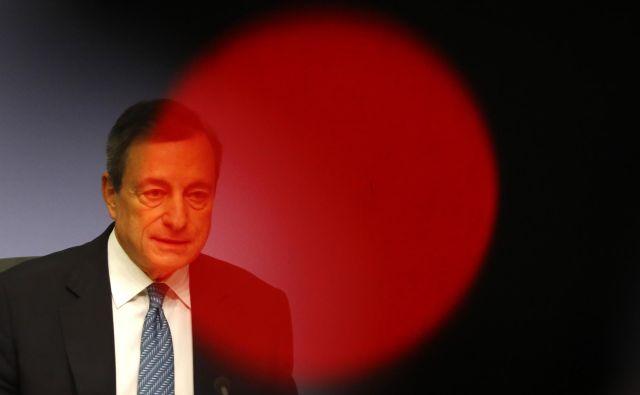 Mario Draghi, predsednik ECB. FOTO: Reuters