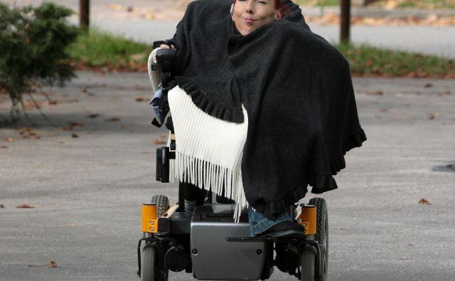 Elena Pečarič že več let dokazuje izprijenost in preživelost sistema Fiho. FOTO: Matej Družnik