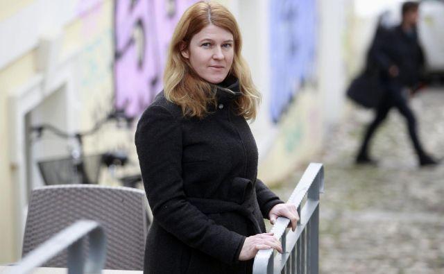 Urša Zgojznik, kandidatka za Delovo osebnost leta 2018. FOTO: Roman Šipić