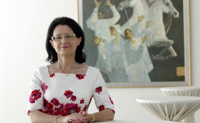 Dr. Verica Trstenjak. V Ljubljani 26.5.2017[Verica Trstenjak.pravnica. evropsko pravo] Foto Mavric Pivk/delo