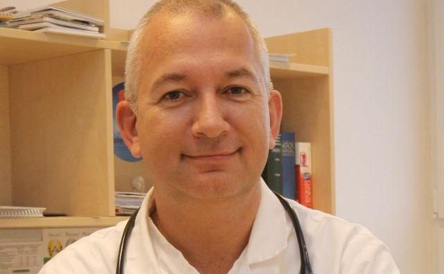 Aleksander Stepanović je direktor Zdravstvenega doma Škofja Loka in strokovni vodja Osnovnega zdravstva Gorenjske. FOTO: Osebni Arhiv