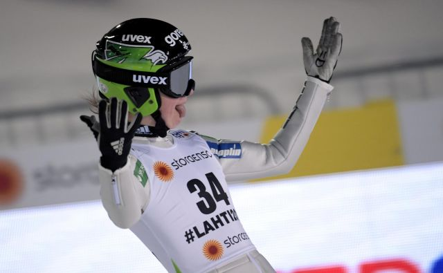 Ema Klinec tudi v zimskem delu sezone potrjuje, da poletni dobri rezultati niso bili le naključje. FOTO: Reuters