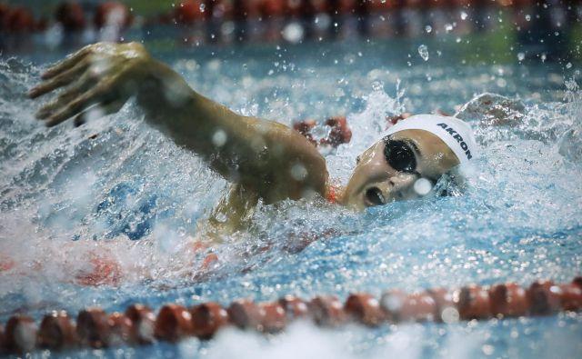 Neža Klančar je z osebnim rekordom uspešno zaključila SP na Kitajskem. FOTO: Uroš Hočevar/Delo