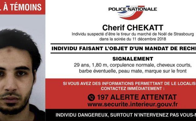 29-letni Cherif Chekatt. FOTO: AP