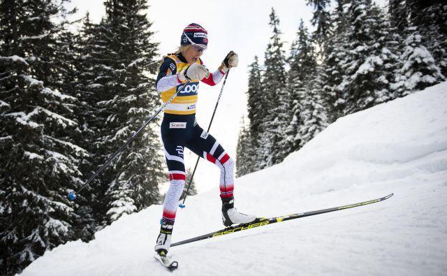 Therese Johaug je letos brez konkurence v teku na razdaljah. FOTO: AP