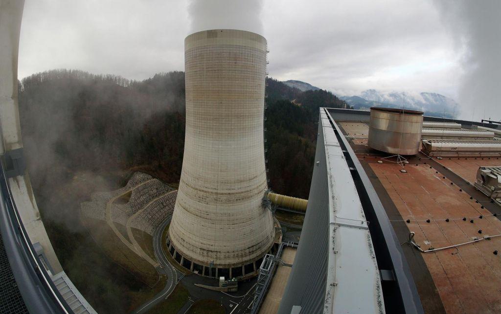 Požar v termoelektrarni