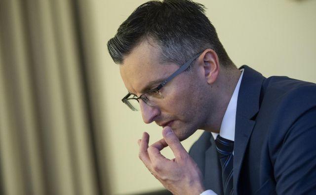 Marjan Šarec: O sovražnem govoru sem spregovoril, ker ni dober za stanje duha v Sloveniji: jaz bom preživel, sem vzdržljiv. FOTO: Voranc Vogel