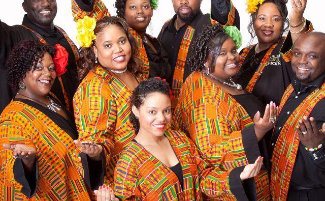 Harlem Gospel Choir – veselje religiozne glasbe.<br /> FOTO: promocijsko gradivo