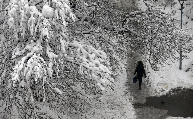 Sneg je pobelil Beograd FOTO: AP