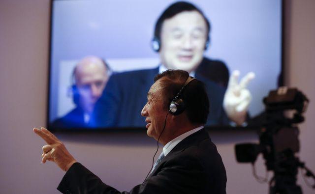 Sodelavci Ren Zhengfeia opisujejo kot neusmiljenega do ljudi, s katerimi dela, in popolnoma predanega Huaweiu. FOTO: Reuters