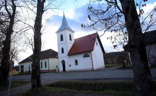 Kalvinska cerkev v Motvarjevcih Foto Tadej Regent
