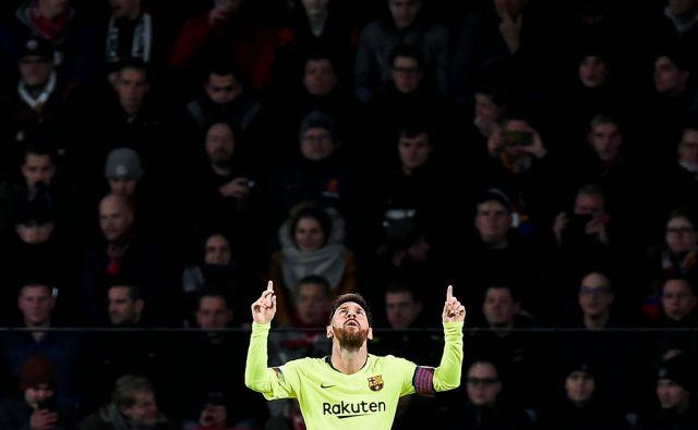 Leto 2018 je bilo za Lionela Messija morda najboljše v njegovi izjemni karieri. FOTO: AFP