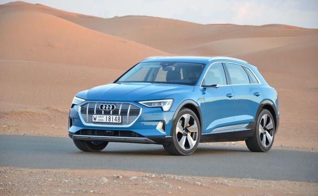 Audi e-tron je športni terenec in prvi povsem električni audi nove dobe.