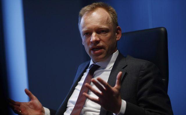 Clemens Fuest, šef Ifa, Nemčiji in Evropi sporoča, da nemško gospodarstvo peša. Foto Reuters