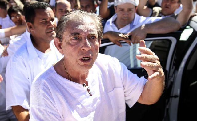 João Teixeira de Faria je znan tudi kot John of God FOTO: AP