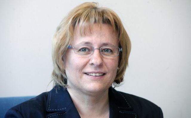Trgovinska zbornica se spoprijema tudi s kadrovskimi izzivi, pravi njena izvršna direktorica Mija Lapornik. FOTO Mavric Pivk/Delo