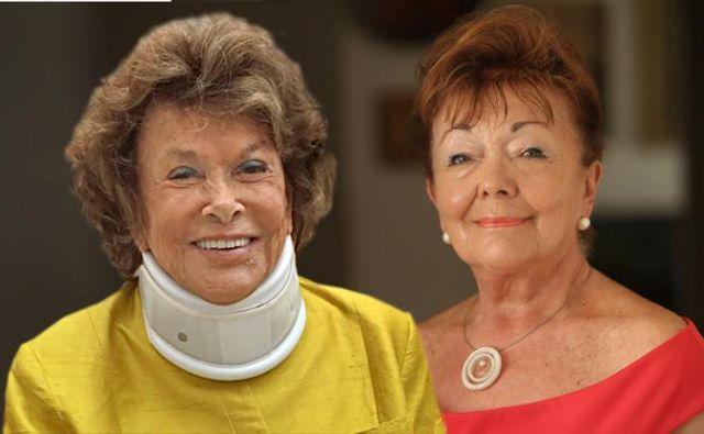 Italjanska princesa Doris Mayer v kazenski ovadbi trdi, da jo je slovenska odvetnica Tjaša Andrée Prosenc finančno oškodovala. Prosenčeva odgovarja, da o njej širijo zlonamerne neresnice.<br /> FOTO: osebni arhiv, Jure Eržen