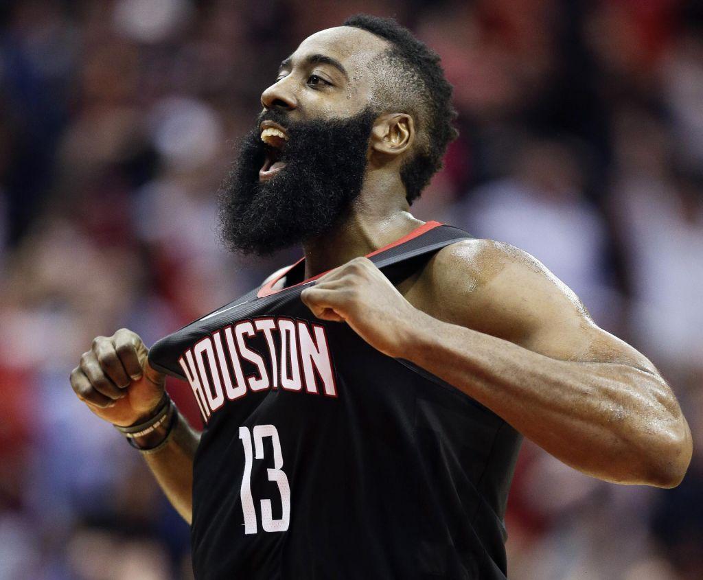 FOTO:Ponoreli Harden prispeval skoraj polovico Houstonovih točk (VIDEO)