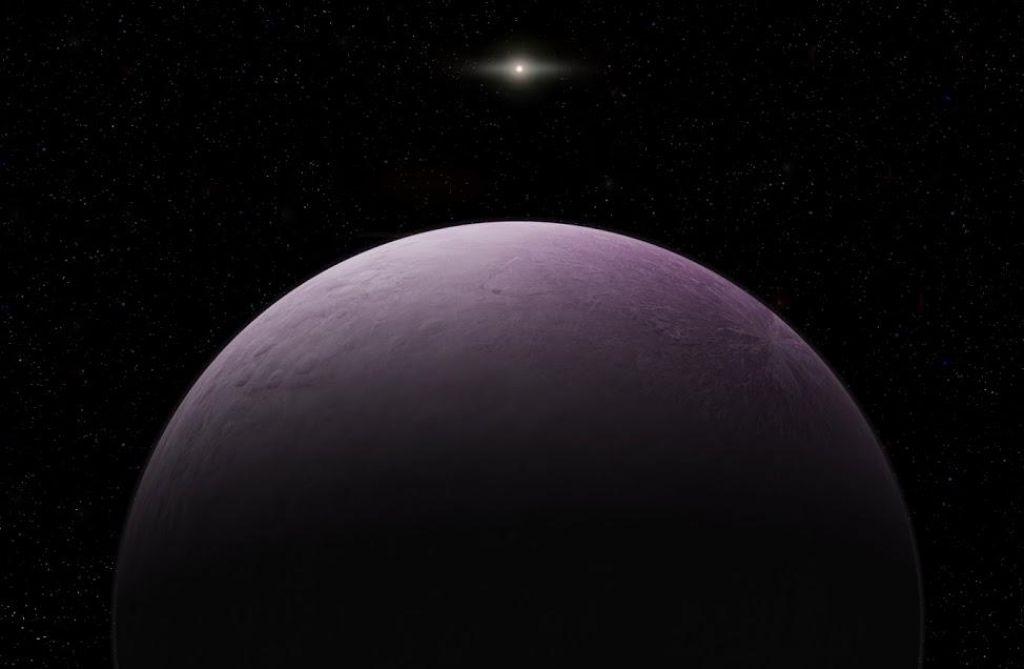 Astronomi odkrili od Sonca zelo zelo oddaljen pritlikavi planet